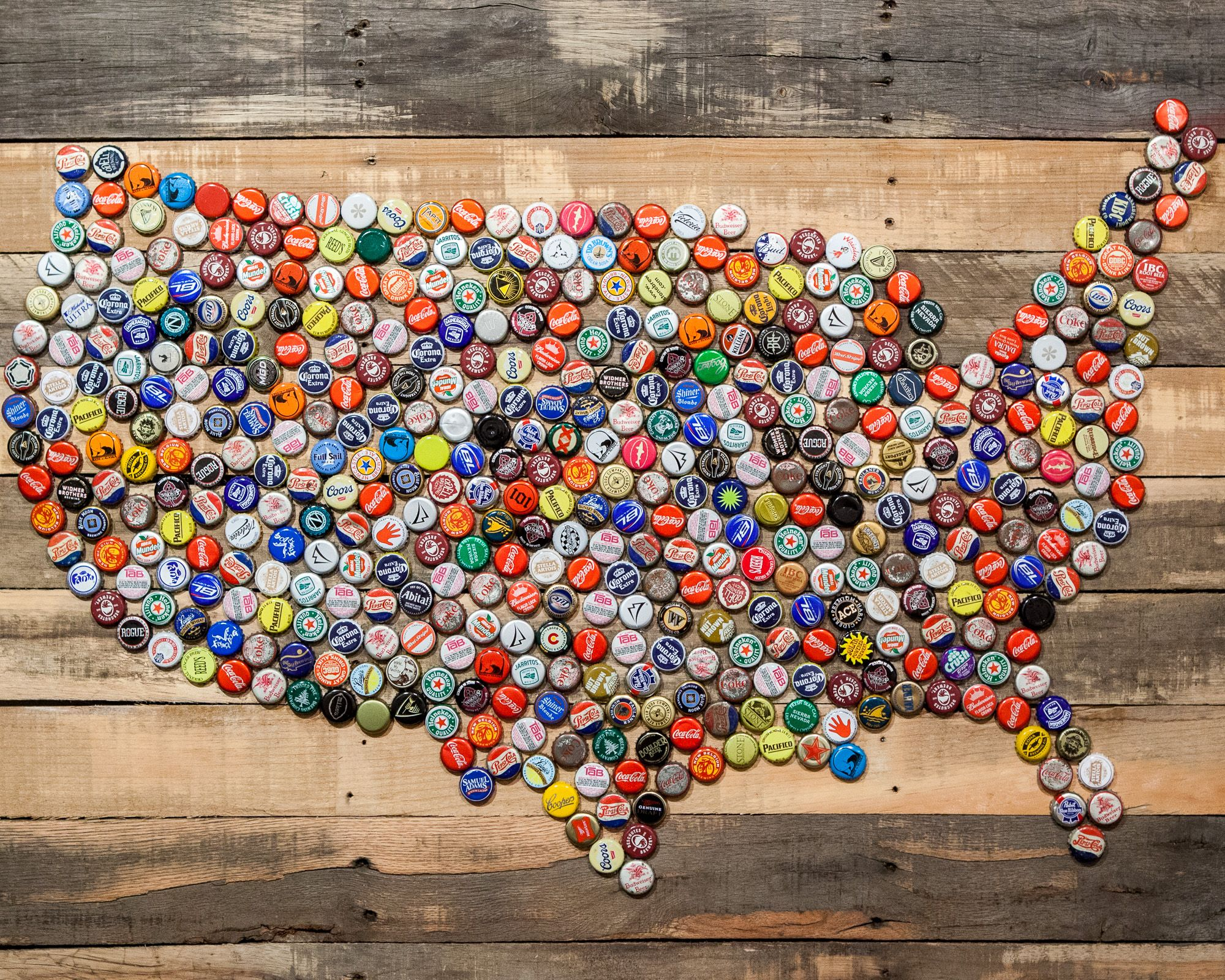 Inspiring Crafts from the Bottle Caps