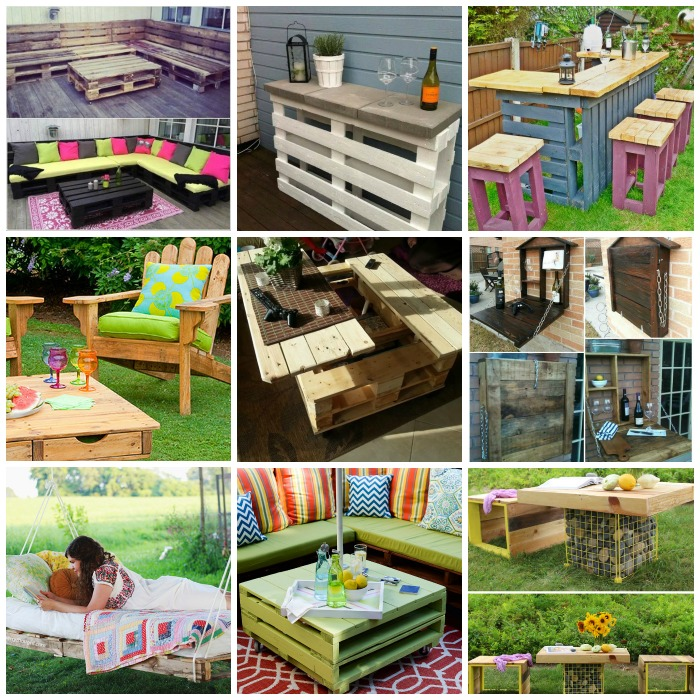 Used Wooden Pallet for Home Furniture
