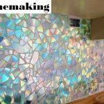 Mendaur Ulang CD Menjadi Pita Foto CD Untuk Figura Dinding